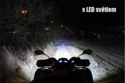 PŘÍDAVNÉ LED SVĚTLO / RAMPA 72W S VELMI VYSOKOU SVÍTIVOSTÍ